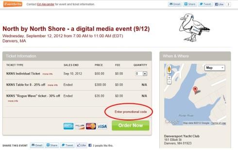 Eventbrite coupon code
